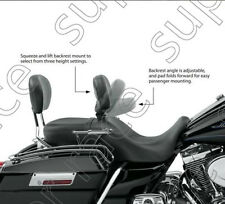 Detachable Rider  Driver Backrest For Harley Touring Ultra Classic FLHTC 09-15
