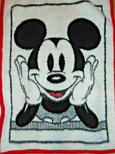 Vintage Mickey Mouse Baby Blanket Thick  26 x 34 inches