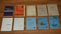 LOT 10 NASA REPORTS 1960s GEMINI/APOLLO AEROSPACE ENGINEER-TECHNICAL WRITER-MSFC