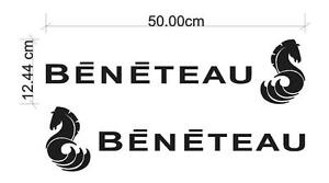 Beneteau Decal Sticker - Various Colours