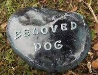 Dog memorial stone abs plastic mold concrete plaster mold mould
