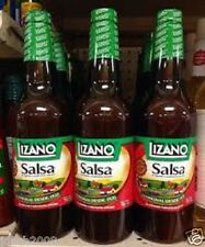 4 X Lizano Salsa f/Costa Rica - 24oz (700 ml) +FREE Additional Lizano 9oz btl