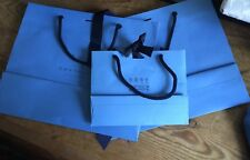 3 Smythson Paper Carrier Bags Gift Bags