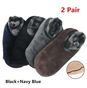 Men Women Winter Warm Home Thicken House Bed Sock Non Slip Slipper Floor Socks