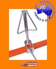 WHEEL RIM SPINNER HOLDER FOR PAINTING WHEELS.CLAMPS TO PANEL STAND OR WORKBENCH