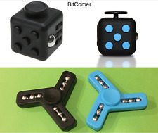 4x psc Lot hand Spinner Fidget Toy EDC Focus and Fidget Cube toy ship from US