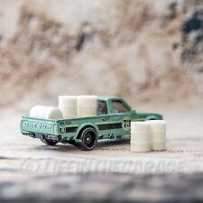 White 55 g barrels Gaslands Hot Wheels Diorama 3D Printed 1/64th Scale (5 Pack)