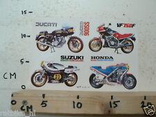 STICKER,DECAL DUCATI 900SS, SUZUKI RGB500 TEAM GALLINA,HONDA NS500,HONDA VF750F