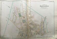 1887 BOONTON MORRIS COUNTY NEW JERSEY HIGH ST - MORRIS CANAL ATLAS MAP