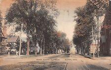 Ohio postcard Elyria, Middle Avenue Boulevard ca 1908