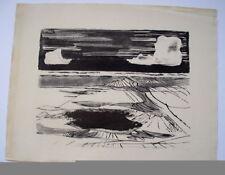 Original-Lithographien (1950-1999) aus Europa mit Landschafts-Motiv