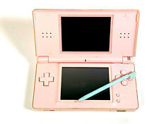 NINTENDO DS Lite Pink Handheld System Games Console Main Unit Only GOOD, GRADE B