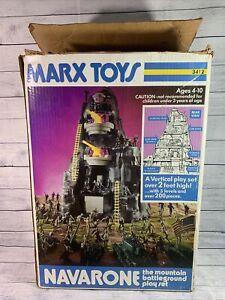 Marx Vintage Navarone The Mountain Battleground Play set No. 3412