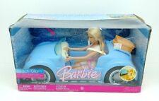 BARBIE  BEACH GLAM CRUISER BLUE CONVERTIBLE SPORTS CAR #L4524 SEALED NRFB