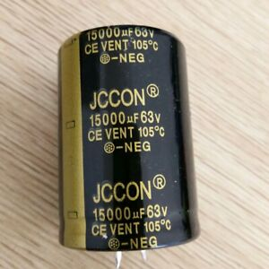 1pc JCCON 15000uF 63V Audio Electrolytic Power Capacitor Capacitors