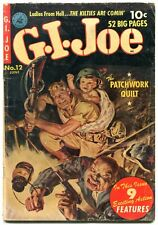 GI Joe #12 1952- Norman Saunders cover- Golden Age VG
