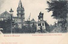 B80872 el parque seminario con la estatua de  guyaquil  ecuador front/back image