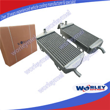 ALUMINUM RADIATOR for GAS GAS MX SM EC 200 250 300 GASGAS 2007-2011 08 09 10