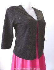 ANTHEA CRAWFORD 3/4 Length Sleeve Metallic Cardigan  Size 16  US 12