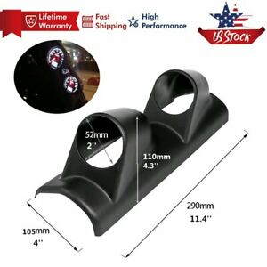 Heavy Duty 2'' x 52mm A-Pillar Meter Gauge Bracket Mount Holder Pod Racing Sport