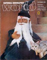 national geographic WORLD-SEPT 1980-SOFT SCULPTURE.