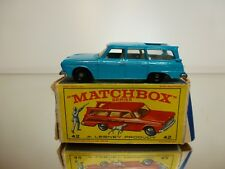 MATCHBOX LESNEY 42 STUDEBAKER STATIONWAGON - BLUE - GOOD CONDITION IN BOX
