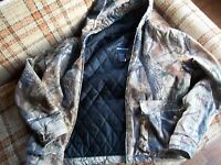 Real Tree Womens Size XXL (18) Hooded Quilted Camo Jacket