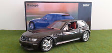 BMW Z3 M COUPE anthracite 1/18 UT MODELS 80439422193 voiture miniature collectio