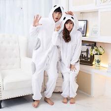 Baymax Big Hero 6 Costume Adult Kigurumi Pyjama Sleepwear Jumpsuit Gloves
