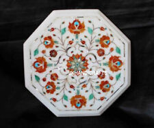 Marble coffee Table Top Semi Precious Stones Inlaid Work Add Royal Lifestyle