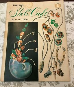 The Book of Shell Craft Instruction Frank & Marjorie Pelosi 1959 craft book