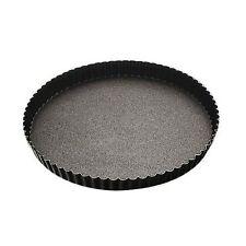 Paderno  Tourtière cannelée | Moule à tarte cannelé 32cm en métal anti-adhérent