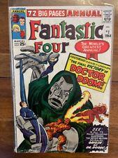 Fantastic Four Annual 2 Silver Age Key Comic Book Please Read Description 1964