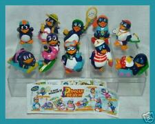 KINDER SORPRESINE PINGUI BEACH ITALIA 1994 + ACCESSORI + BOX SCATOLA vale 55,50€