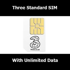 Unlimited Data / Internet To For Nokia Samsung iPhone HTC LG Sony On Three 3G 4G