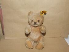 Steiff-Original Teddy Bär-0201/18-mit Knopf+Fahne-80er Jahre