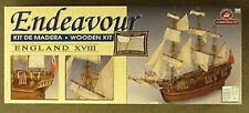 CONSTRUCTO 1/60 Endeavour Complete with Fittings Wooden Model Kit # 80832  NEW