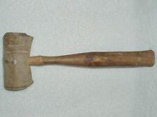 Old~CHICAGO RAWHIDE MANUFACTURING Jewelers Rawhide Mallet Hammer VINTAGE 1950's