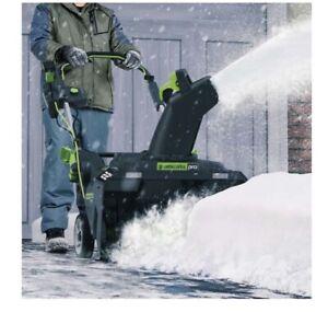 """80V 22"""" Brushless Snow Thrower (Brand New)"""