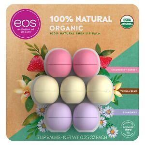 eos USDA Organic Lip Balm 7 Spheres