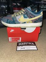 Size 12.5 - Nike Dunk Low Lemon Wash (Community Garden Dunks) BRAND NEW!
