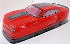 Pre-Painted RC Body 1/10th Scale Red Z28 ZL1 HPI Traxxas Kyohso 190mm