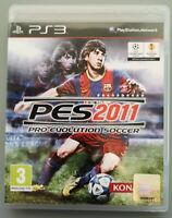 PES PRO EVOLUTION SOCCER PS3 2011 (Sony PlayStation 3, 2010) GAME WITH MANUAL