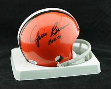 Jim Brown SIGNED Cleveland Browns Mini Helmet + HOF 71 PSA/DNA AUTOGRAPHED