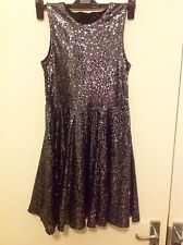 Autograph Girl Sleeveless Sequin Effected  Dress Size 12-13 Years