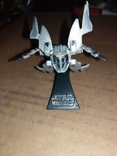 Star Wars Titanium Prince Xizor's Virago Starfighter Loose Weapon With Stand