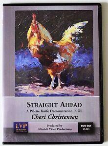 Cheri Christensen: Straight Ahead - Art Instruction DVD