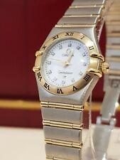 Omega Constellation 12627500 22.5mm Ladies Diamond Dial 2009 Superb Condition