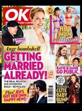 Ok Magazine May 1, 2007 Ange Bombshell the real reason she divorced Brad Pitt