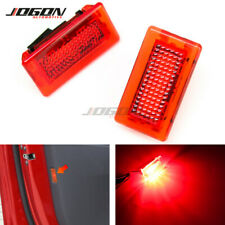 Red LED Car Door Boot Foot Trunk interior Light Warning Lamp For Tesla Model S X